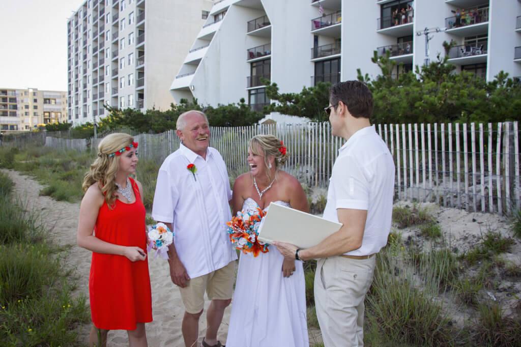 Wedding Rehearsal with Maryland Wedding Minister Sean Rox